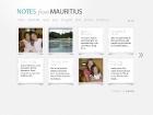 DeliciousMauritius - Design & develop a personal blog