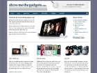 Show Me the Gadgets - Design & build site for a technology & gadget retail site